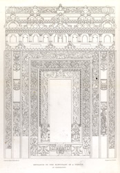Entrance to the sanctuary of a temple at Chandravati plate 15